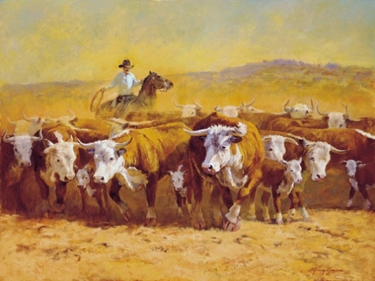 Pushin' Cattle