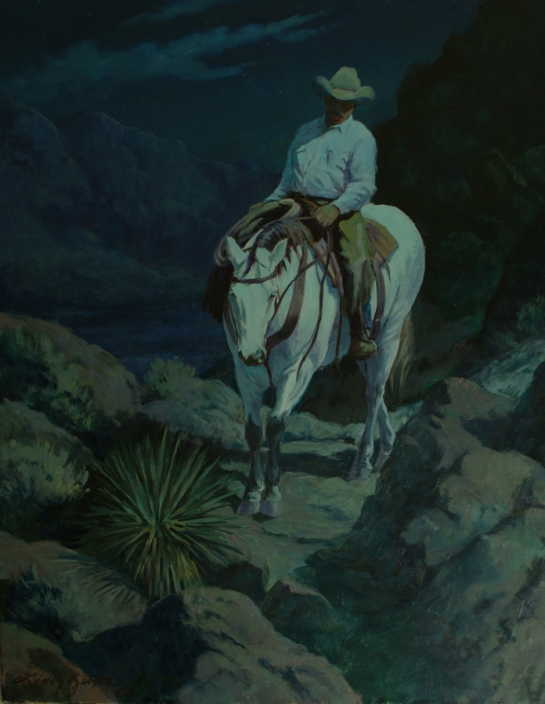 Riding by the Light of the Moon, SOLD