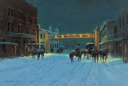 Silent Night In Cowtown